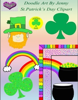 St. Patrick's Day Digital Clipart