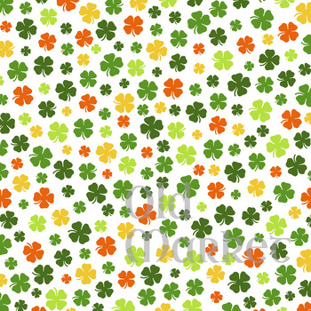 St. Patricks Day Digital Paper Pack - 16 Different Papers - 12inx12in