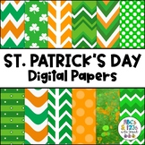 St Patrick's Day Digital Paper Pack - FREEBIE