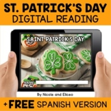 St Patricks Day Reading Comprehension for Google Classroom