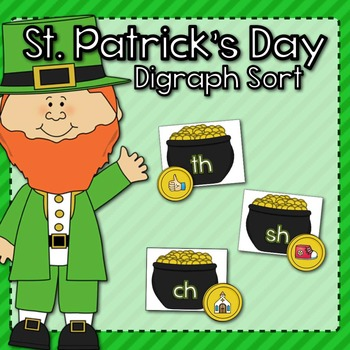 St. Patrick's Day Digraph Sort