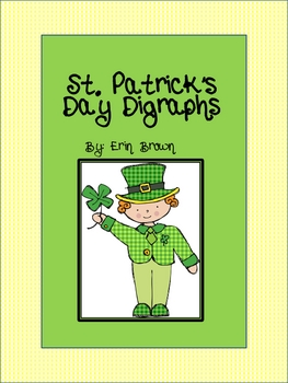 St. Patrick's Day Digraphs Word Sort and Write the Room