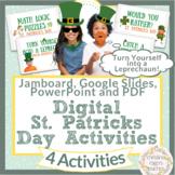 St Patricks Day Digital Math Writing Google Jamboard How t