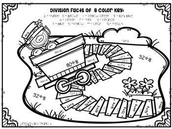 St. Patrick's Day Division 2-12 Color-By-Number