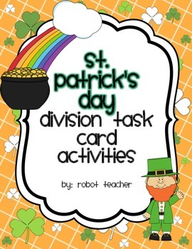 St. Patrick's Day Division Activities