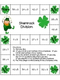 St. Patrick's Day Division Game: 22 board games (color and grayscale)
