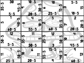 St. Patrick's Day Division Puzzles