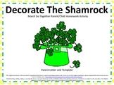 St. Patrick's Day Do Together Parent/Child Homework Shamrock Activity