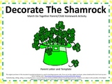 St. Patrick's Day Do Together Parent/Child Homework Shamro