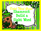 St. Patrick's Day Dolch Build a Sight Word--Third Grade List