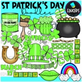 St Patrick's Day Doodles Clip Art Bundle {Educlips Clipart}