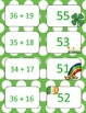 St. Patrick's Day Double Digit Addition With Regrouping Card Games