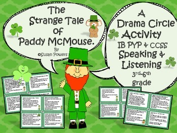 St Patricks Day Drama Circle Activity The Strange Tale of Paddy McMouse
