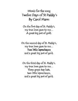 St. Patrick's Day - Drama Game Fun