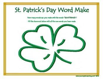 St. Patrick's Day Fun!