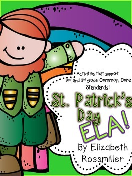 St. Patrick's Day No Prep ELA Activities