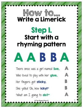 How to Write a Limerick: St. Patrick's Day ELA! (and other literacy activities)