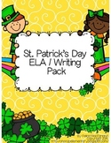 St. Patrick's Day ELA / Writing Pack