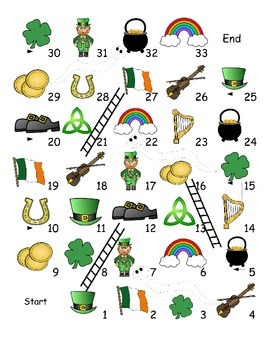 St. Patrick's Day ESL Games