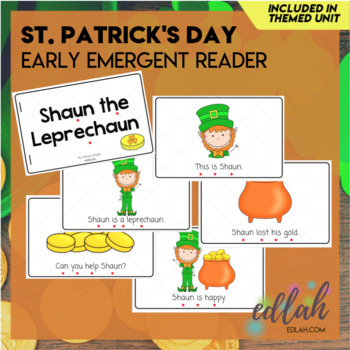 St. Patrick's Day Early Emergent Reader