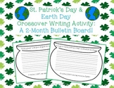 St. Patrick's Day & Earth Day Crossover Writing Activity and Bulletin Board!