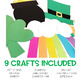 St. Patrick's Day Easy Art: Adapted Art Pack