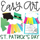 St. Patrick's Day Easy Art: Adapted Art and Writing Pack