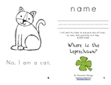 St. Patrick's Day Easy Reader Book- Where is the Leprechaun?