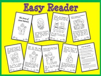 St. Patrick's Day Easy Reader/The Story of St. Patrick/Scavenger Hunt