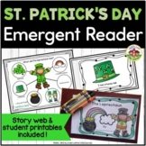 St. Patrick's Day Emergent Reader and Story Web