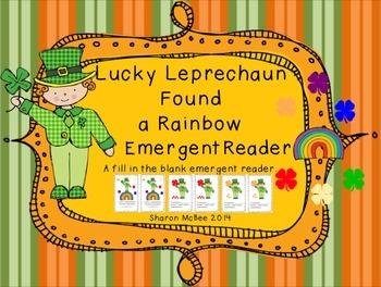 St. Patrick's Day Emergent Reader:  Lucky Leprechaun