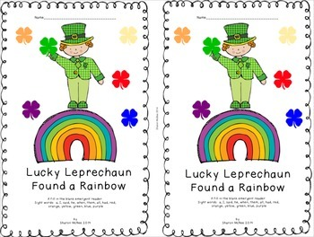 St. Patrick's Day Emergent Reader:  Lucky Leprechaun