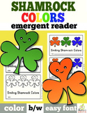 St. Patrick's Day Emergent Reader: Shamrock Color Words