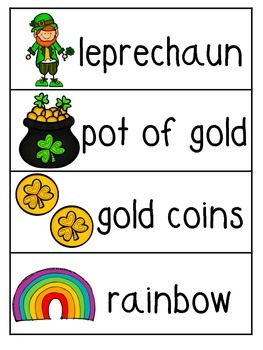 St. Patrick's Day Emergent Reader - What Does the Leprechaun Say?