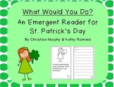 St. Patrick's Day Emergent Reader with Writing