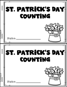 St. Patrick's Day Emergent Readers (4 Readers)