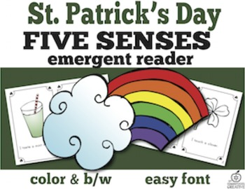 St. Patrick's Day Emergent Readers Bundle
