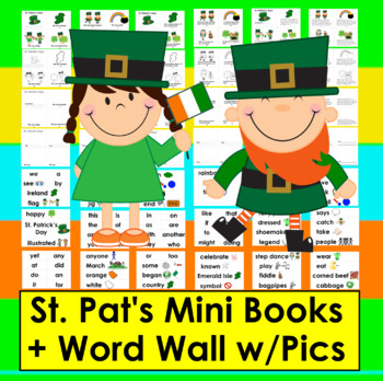 St. Patrick's Day Activities ☘  Readers 3 Reading Levels +
