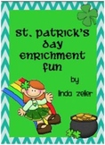St. Patrick's Day Enrichment Fun for Early Finishers