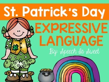 St. Patrick's Day Expressive Language