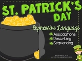 St. Patrick's Day Expressive Language Activity