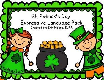 St. Patrick's Day Expressive Language Pack