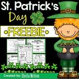 St. Patrick's Day NO PREP FREEBIE!