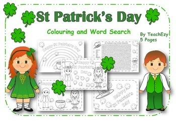 St Patrick's Day FREE Resource