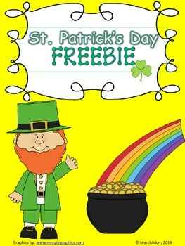 St. Patrick's Day FREEBIE!