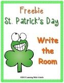 St. Patrick's Day FREEBIE ~ Write the Room ~ Literacy Activity