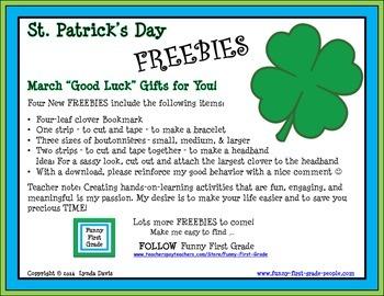 St. Patrick's Day - FREE