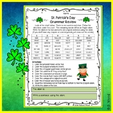 St. Patrick's Day Grammar Review