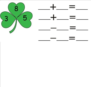 St. Patrick's Day Fact Families