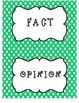 St. Patrick's Day Fact and Opinion Sort